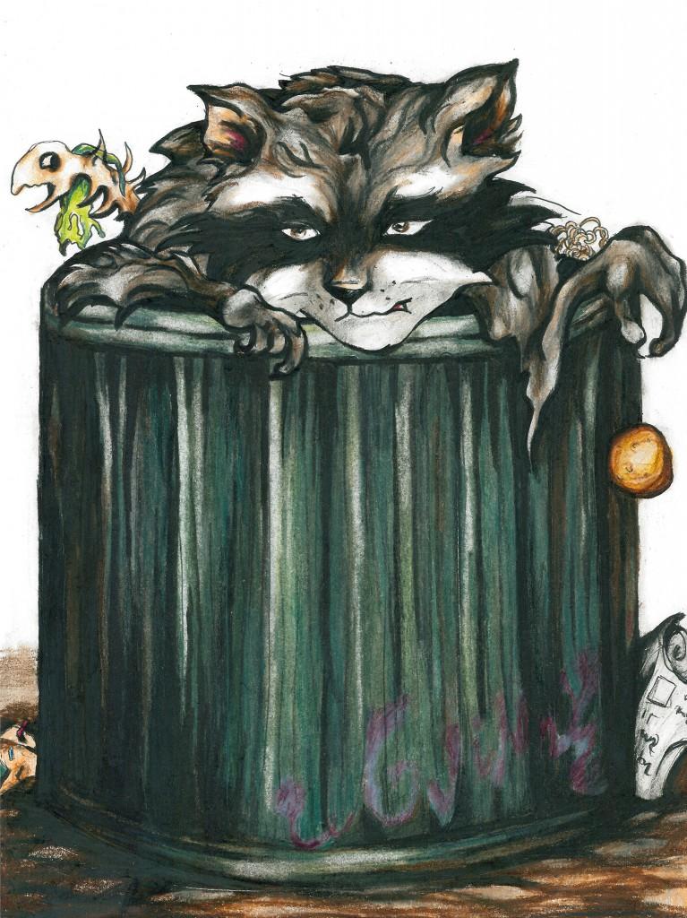 Anni Moilanen - Ei taaskaan mitään syötävää (Vaasankatu 29-31)